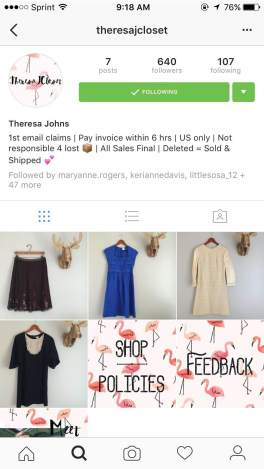 The Best Instagram Shops Morgan Tolson ApostolicGirl - What information is required on an invoice online thrift store clothes